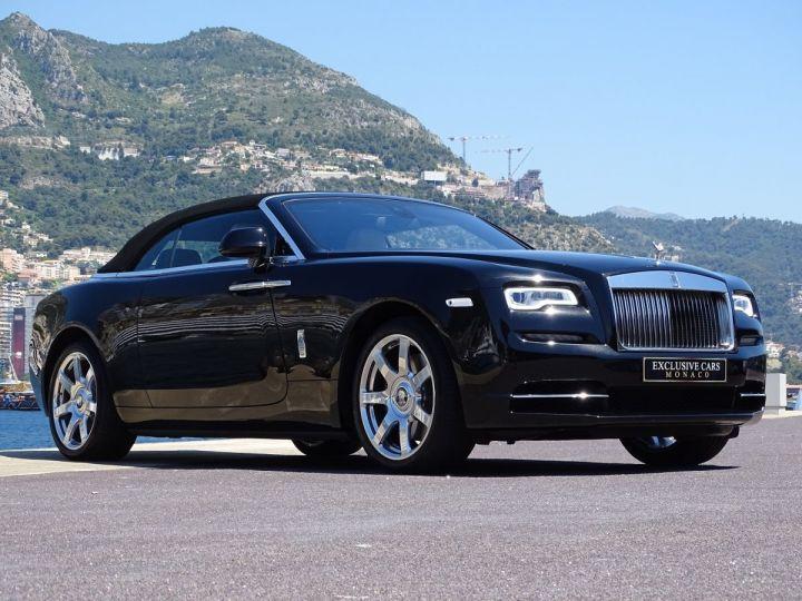 Rolls Royce Dawn 6.6 12 V 571 CV  - MONACO Noir Métal (Diamond Black) - 17