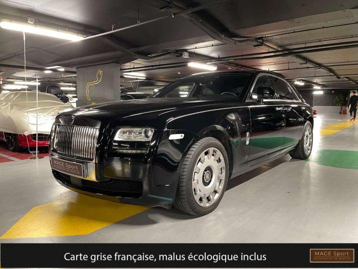 Rolls Royce Ghost 6.6 V12 570ch SWB A Noir Occasion - 1