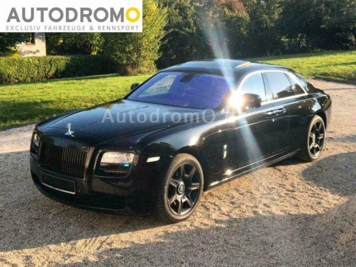 Rolls Royce Ghost Black Ed. V12 6.6 571cv *Livraison à domicile - Garantie 12 mois INCLUS - Noire Black ed. - 1