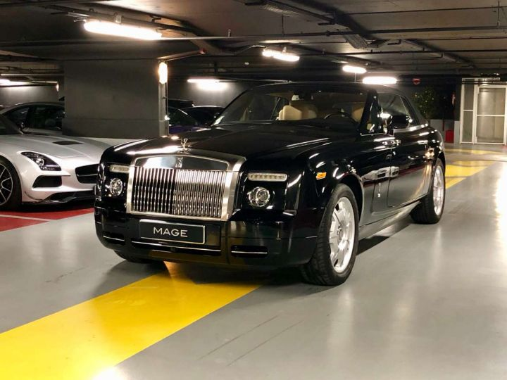 Rolls Royce Phantom 6.75 V12 Convertible A Noir Occasion - 12