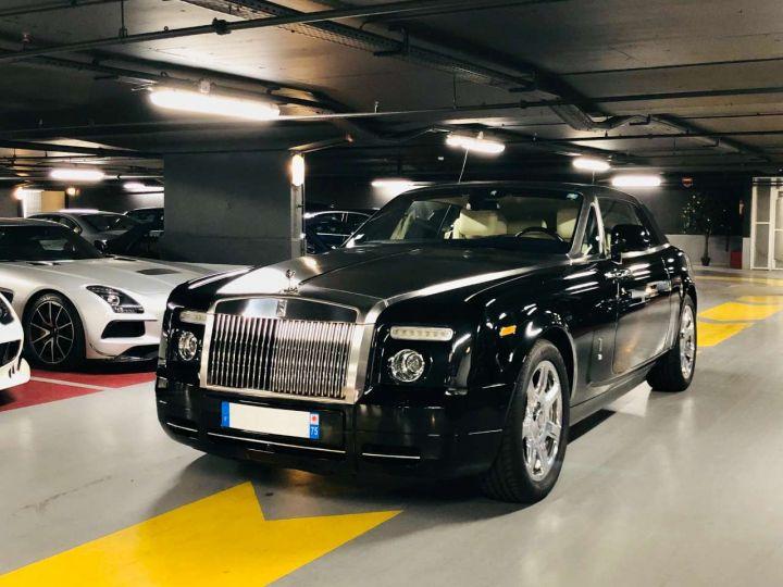 Rolls Royce Phantom Drophead 6.75 V12 460ch Coupé A Noir Occasion - 1