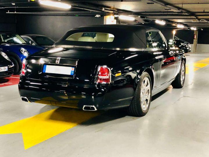 Rolls Royce Phantom Drophead 6.75 V12 460ch Coupé A Noir Occasion - 2