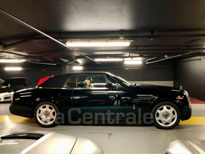 Rolls Royce Phantom Drophead 6.8 V12 460 Noir Metal Occasion - 3