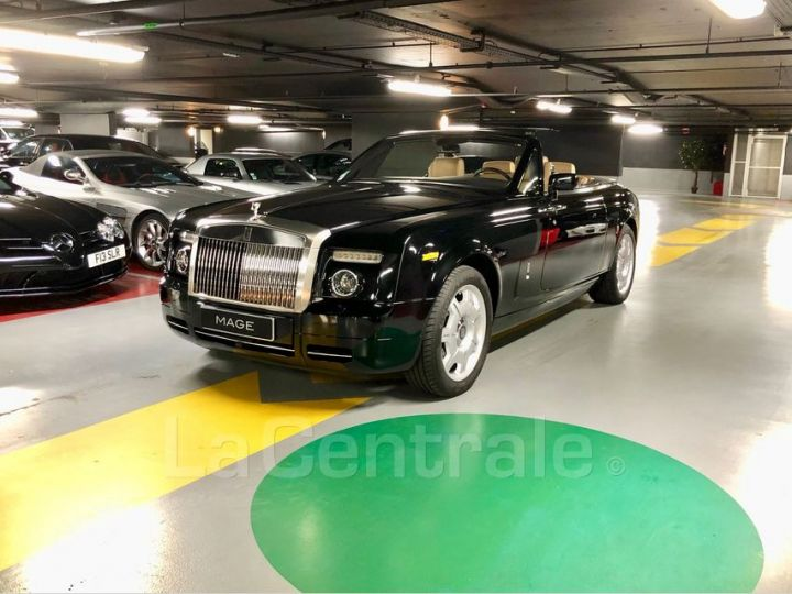 Rolls Royce Phantom Drophead 6.8 V12 460 Noir Metal Occasion - 9