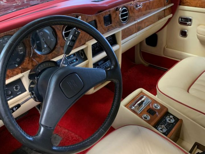 Rolls Royce Silver Spirit Rouge Grenat Métal Occasion - 6