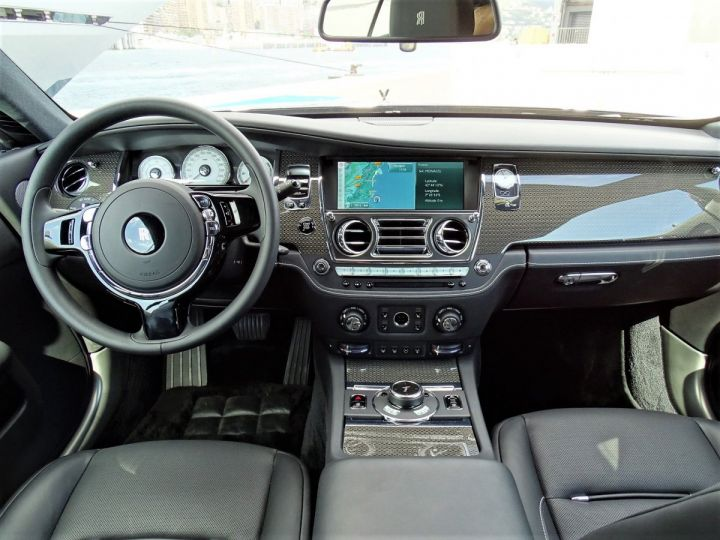 Rolls Royce Wraith BLACK BADGE 632 CV - MONACO NOIR - 9