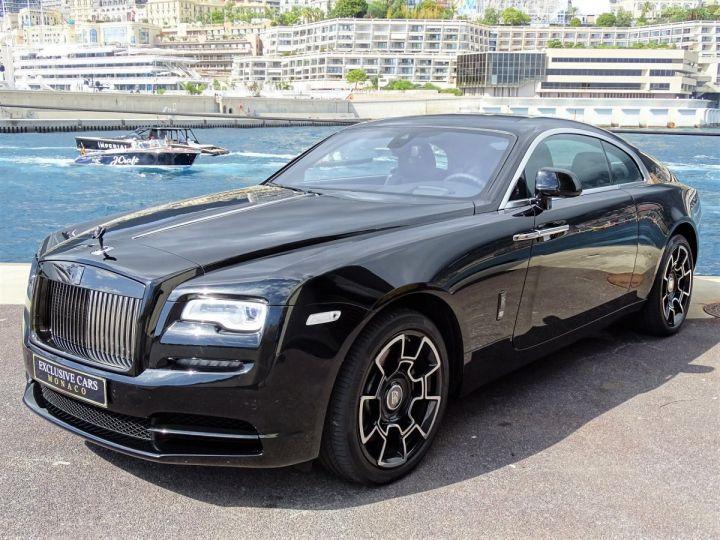Rolls Royce Wraith BLACK BADGE V12 632 CV - MONACO NOIR - 1