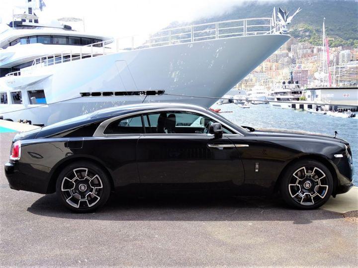 Rolls Royce Wraith BLACK BADGE V12 632 CV - MONACO NOIR - 4