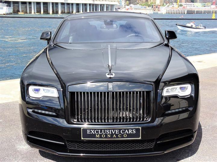 Rolls Royce Wraith BLACK BADGE V12 632 CV - MONACO Noir - 2