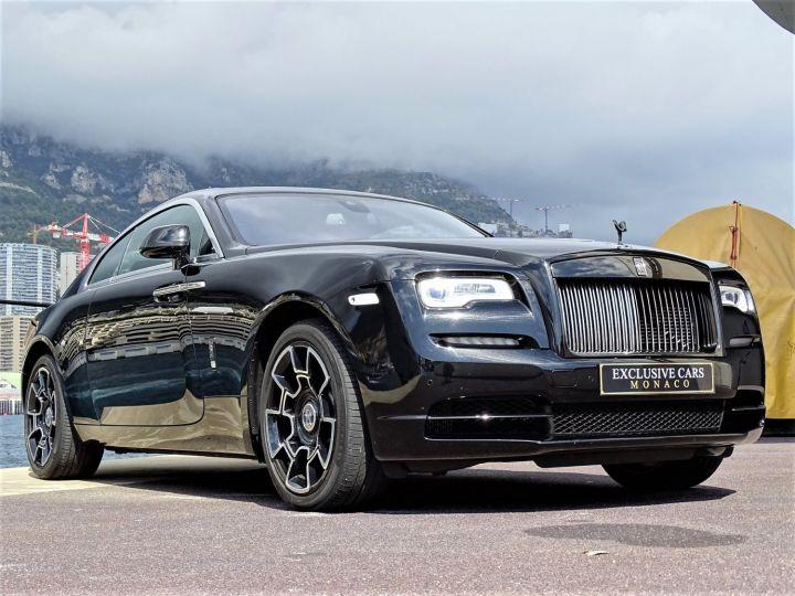Rolls Royce Wraith BLACK BADGE V12 632 CV - MONACO Noir - 3