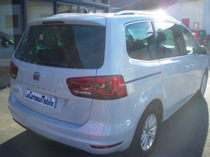 Seat ALHAMBRA 2.0 TDI 150cv STYLE Blanc Nacre - 5