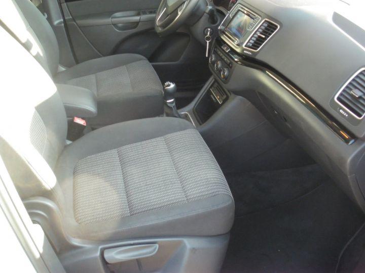 Seat ALHAMBRA 2.0 TDI 150cv STYLE Blanc Nacre - 10