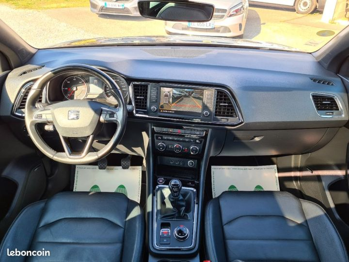 Seat Ateca 2.0 tdi 150 xcellence 4drive 06/2017 TOIT OUVRANT PANORAMIQUE CUIR LED CAMERA 360°  - 5