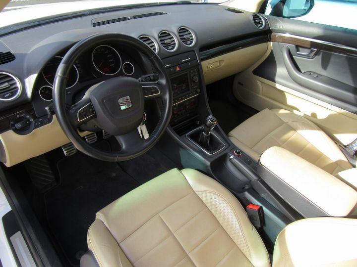 Seat EXEO 2.0 TDI120 CR FAP SEDUCE BLANC Occasion - 4