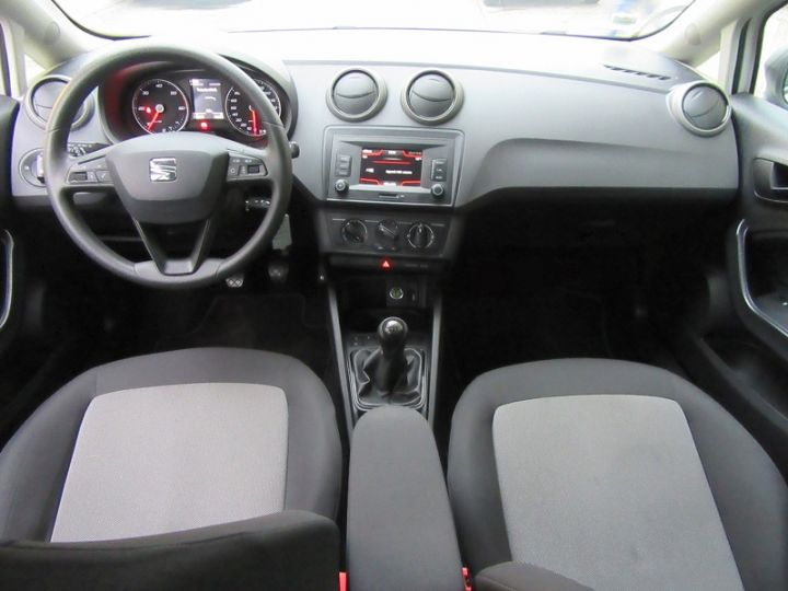 Seat IBIZA 1.4 TDI 90CH REFERENCE BUSINESS START/STOP BLANC Occasion - 12