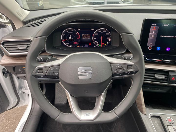 Seat Leon 2.0 TDI 150CH DSG7 XCELLENCE Blanc - 21