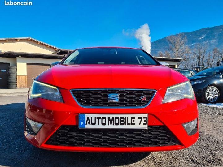 Seat LEON 2.0 tdi 184 fr 10/2013 GPS SEMI CUIR BT  - 5