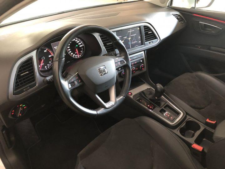 Seat LEON ST 2.0 TDI 150 CV XCELLENCE DSG Blanc - 5