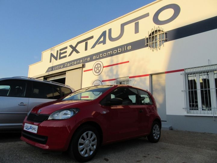 Skoda CITIGO 1.0 MPI 60CH ACTIVE 5P Rouge Occasion - 1