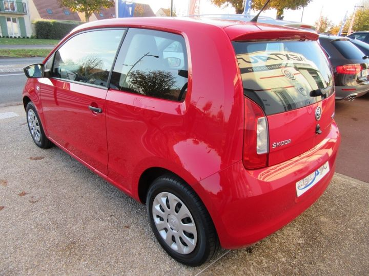 Skoda CITIGO 1.0 MPI 60CH ACTIVE 5P Rouge Occasion - 3