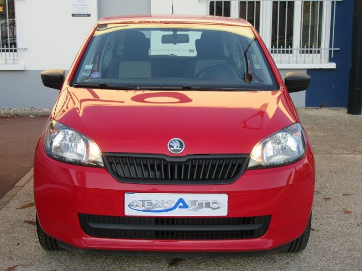 Skoda CITIGO 1.0 MPI 60CH ACTIVE 5P Rouge Occasion - 8