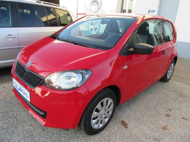 Skoda CITIGO 1.0 MPI 60CH ACTIVE 5P Rouge Occasion - 9