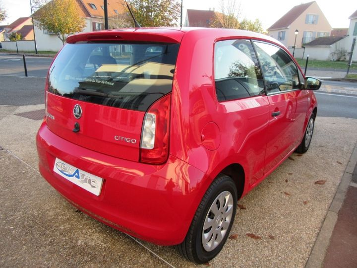 Skoda CITIGO 1.0 MPI 60CH ACTIVE 5P Rouge Occasion - 13