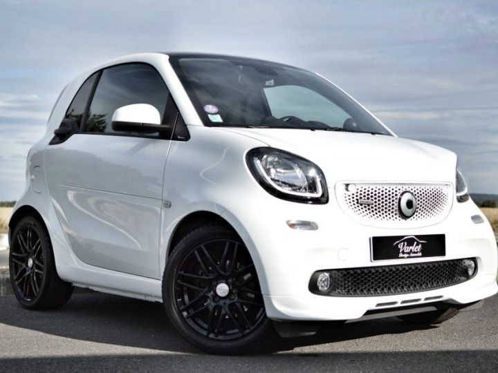 Smart Fortwo SMART FORTWO COUPE EDITION BRABUS XCLUSIVE BVA6 0.9 109ch 1ERE MAIN CAMERA GPS... BLANC - 1