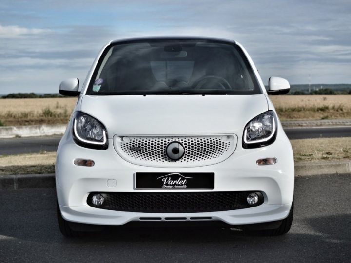 Smart Fortwo SMART FORTWO COUPE EDITION BRABUS XCLUSIVE BVA6 0.9 109ch 1ERE MAIN CAMERA GPS... BLANC - 2