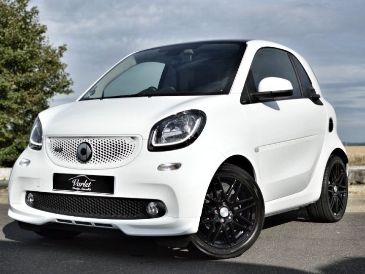 Smart Fortwo SMART FORTWO COUPE EDITION BRABUS XCLUSIVE BVA6 0.9 109ch 1ERE MAIN CAMERA GPS... BLANC - 3