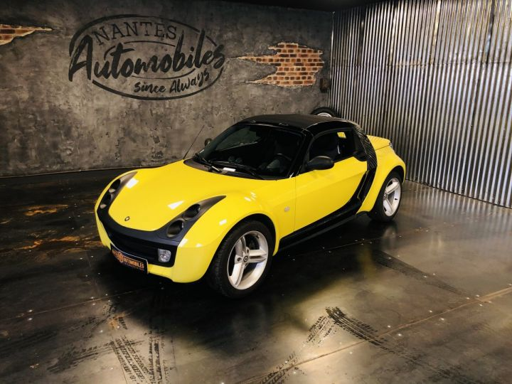 Smart ROADSTER jaune et noir - 1