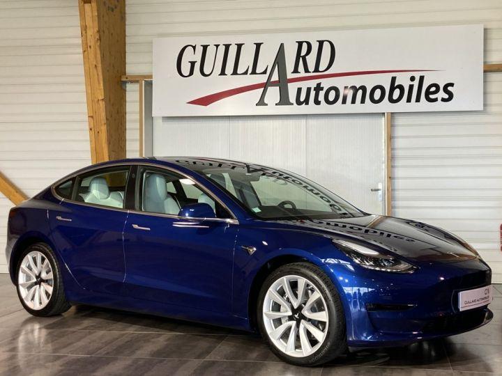 Tesla Model 3 LONG RANGE DUAL MOTOR AWD 462ch BVA Bleu Outremer - 4