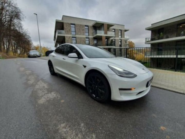 Tesla Model 3 STANDARD PLUS LED FSD Full self driving Blanc - 2