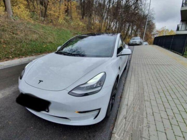 Tesla Model 3 STANDARD PLUS LED FSD Full self driving Blanc - 3