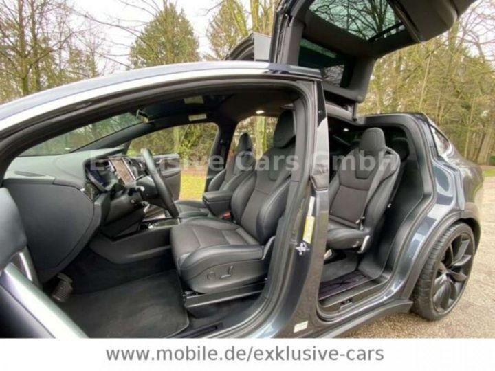 Tesla Model X 100D 525 cv *6 sièges* Pano + attelage * Auto Pilot* Gris Foncé Métallisé - 6