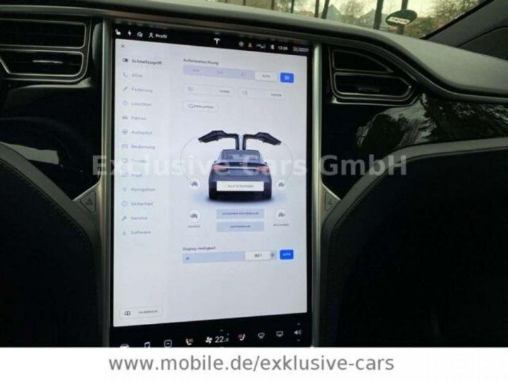 Tesla Model X 100D 525 cv *6 sièges* Pano + attelage * Auto Pilot* Gris Foncé Métallisé - 8