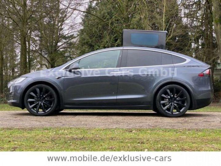 Tesla Model X 100D 525 cv *6 sièges* Pano + attelage * Auto Pilot* Gris Foncé Métallisé - 9