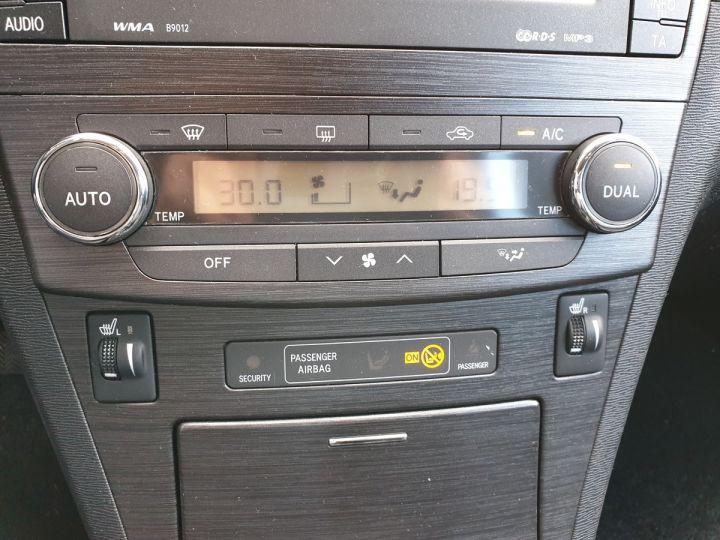 Toyota Avensis 3 iii 150 cat lounge bva Gris Occasion - 14