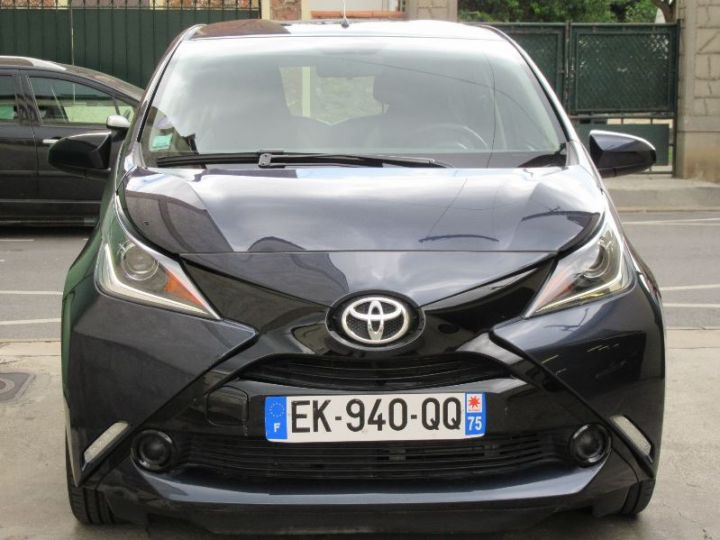 Toyota AYGO 1.0 VVT-I 69CH X-PLAY X-SHIFT 5P GRIS FONCE Occasion - 6