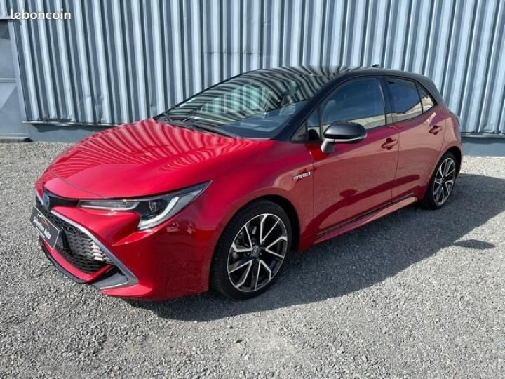 Toyota Corolla 122h collection Rouge - 1