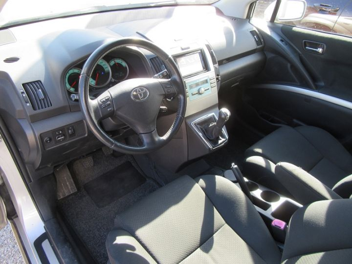 Toyota COROLLA Verso 136 D-4D TECHNO 7 PLACES Gris Clair Occasion - 2