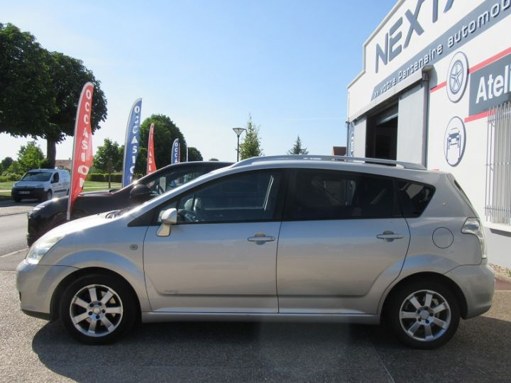 Toyota COROLLA Verso 136 D-4D TECHNO 7 PLACES Gris Clair Occasion - 5