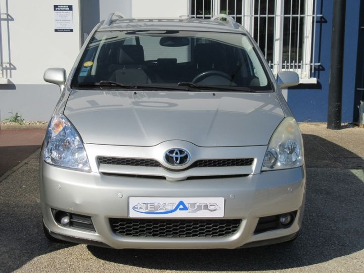 Toyota COROLLA Verso 136 D-4D TECHNO 7 PLACES Gris Clair Occasion - 6