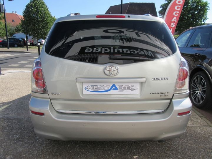 Toyota COROLLA Verso 136 D-4D TECHNO 7 PLACES Gris Clair Occasion - 7