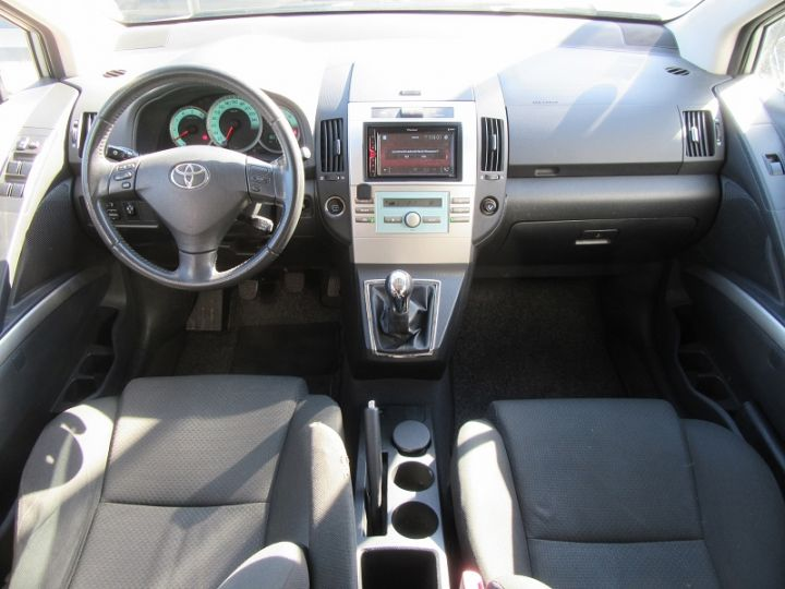Toyota COROLLA Verso 136 D-4D TECHNO 7 PLACES Gris Clair Occasion - 12