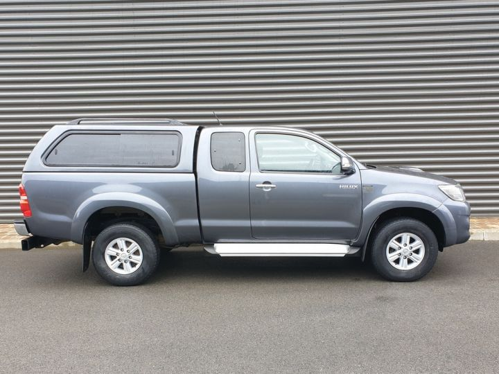 Toyota Hilux 3 iii tra cabine 4wd 4d 144. bm Gris Anthracite Occasion - 3