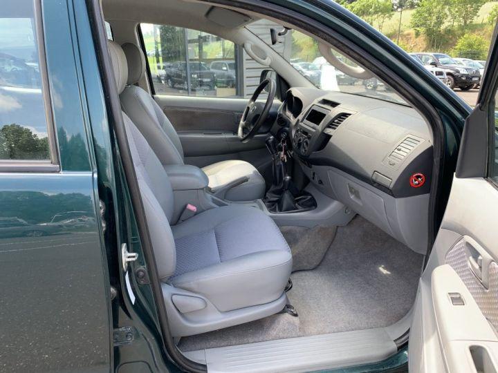 Toyota Hilux Double cabine 2.5 L D4D 120 CV Country Vert Foncé - 12
