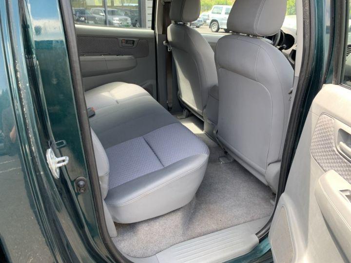 Toyota Hilux Double cabine 2.5 L D4D 120 CV Country Vert Foncé - 13