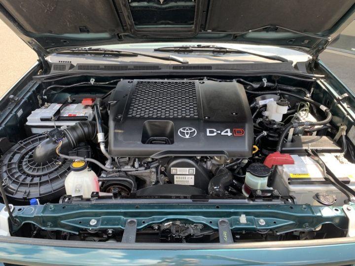 Toyota Hilux Double cabine 2.5 L D4D 120 CV Country Vert Foncé - 14
