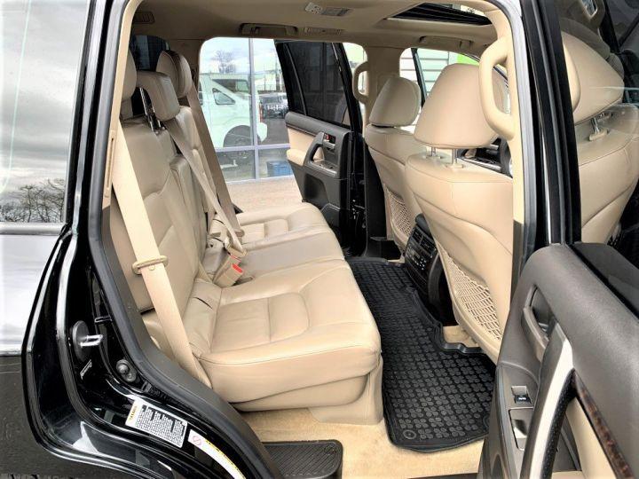 Toyota Land Cruiser VDJ 200 4.5 L V8 D4D 286 CV Lounge 7 places Noir - 10